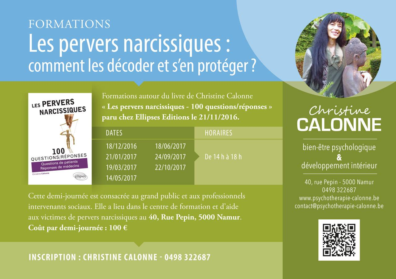 FormationPerversion Narcissique